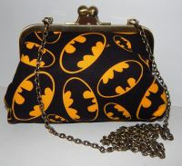 BATMAN CLASSIC LOGO EVENING HANDBAG
