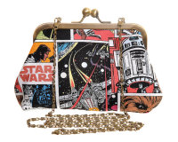 STAR WARS COMIC COVERS EVENING HANDBAG