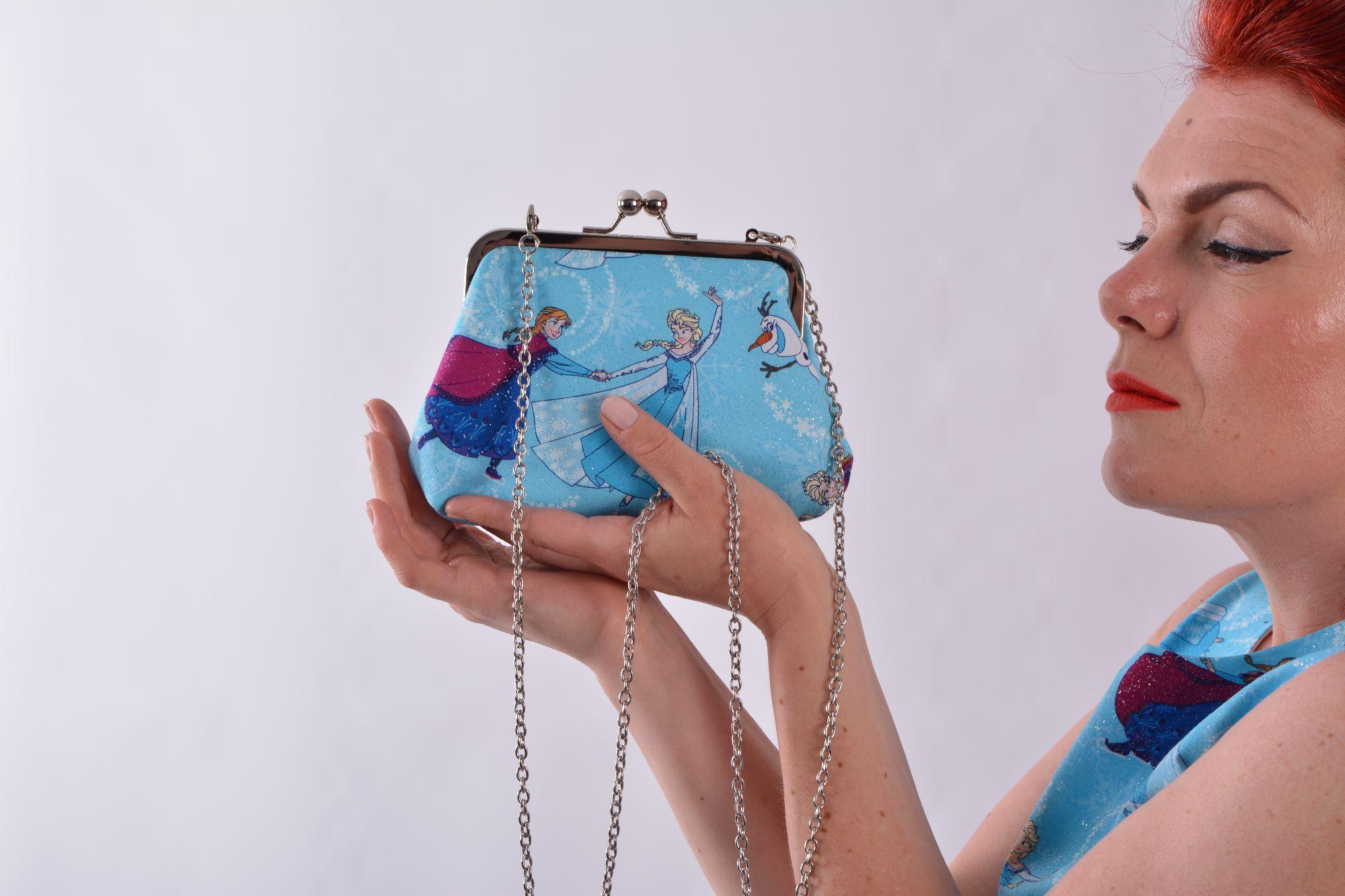 frozen handbag
