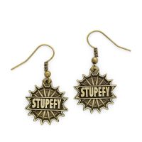 FANTASTIC BEASTS OFFICIAL 'STUPEFY' EARRINGS