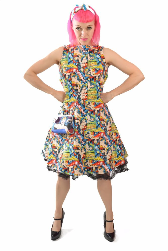 WONDER WOMAN KABOOM! DRESS
