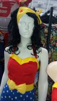 WONDER WOMAN BOMBSHELL BODICE