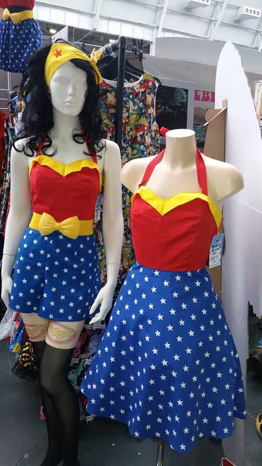 wonder woman girl power dress
