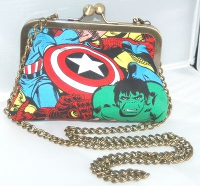 AVENGERS EVENING BAG BY LUCY LIZ
