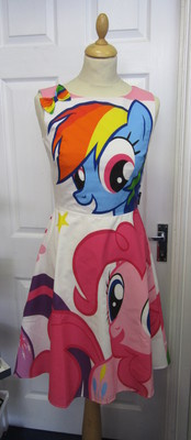 MY LITTLE PONY RAINBOW DASH DRESS SIZES 6-22