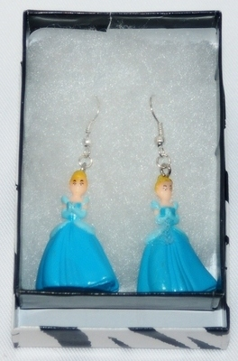 DISNEY PRINCESSES 'CINDERELLA' EARRINGS