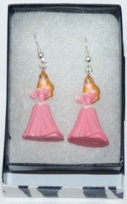 DISNEY PRINCESSES SLEEPING BEAUTY 'AURORA' EARRINGS