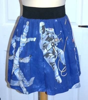 SPACEMAN - ONE GIANT LEAP! SKATER SKIRT