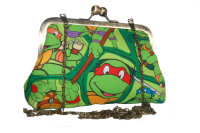 TURTLES EVENING BAG BY LUCY LIZ