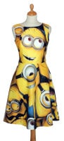 MINION DRESS various sizes in stock and to order