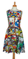 MARVEL COMIC STRIP DRESS - FULL COLOUR various sizes