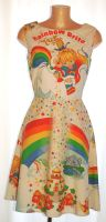 RAINBOW BRITE COLOUR KIDS DRESS