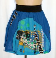 DR WHO POP ART DALEK SKATER SKIRT SIZE 12-16