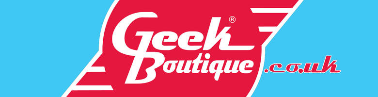 geek boutique, site logo.