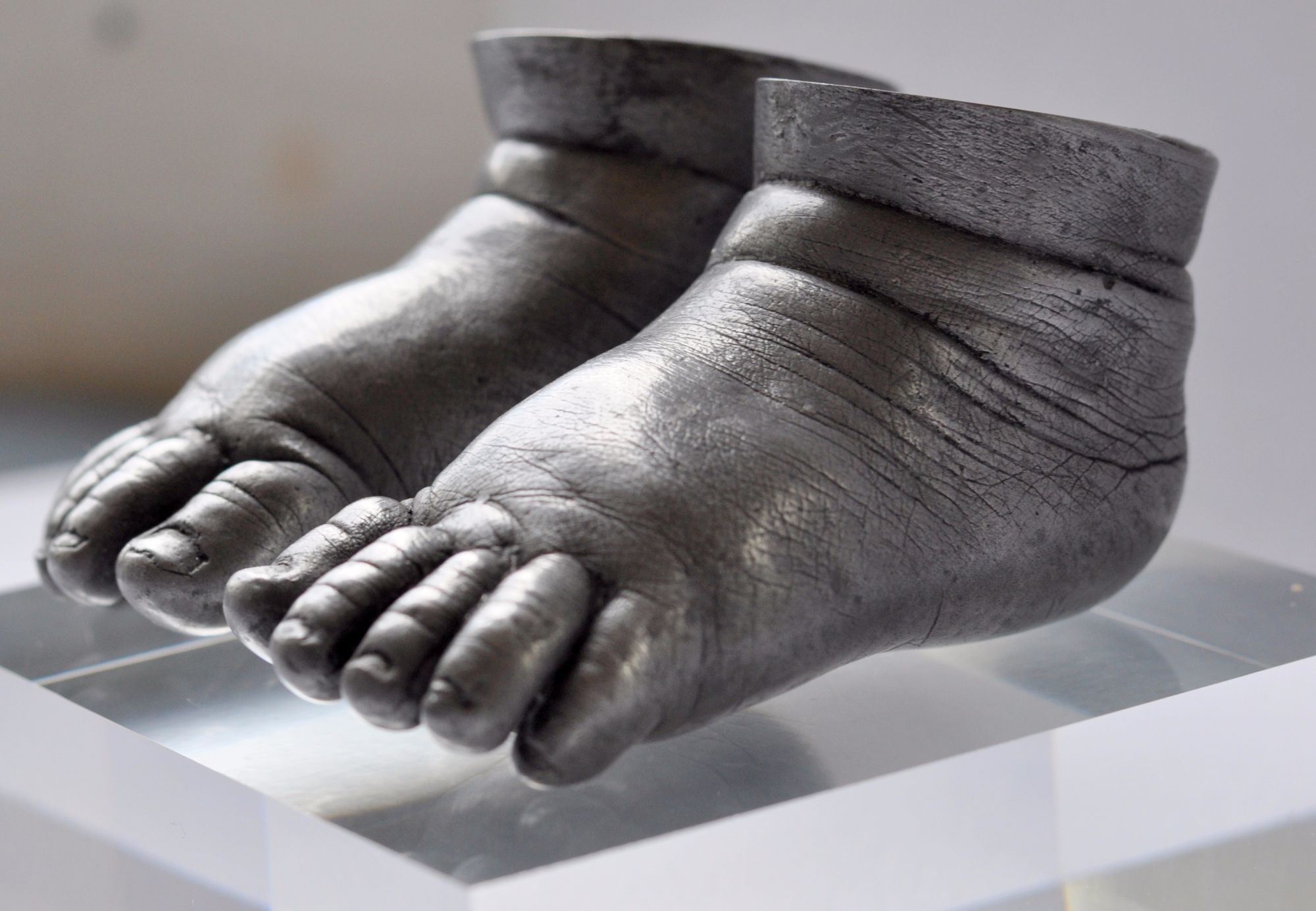 Baby Hand And Footprint Impressions And Sculptures
