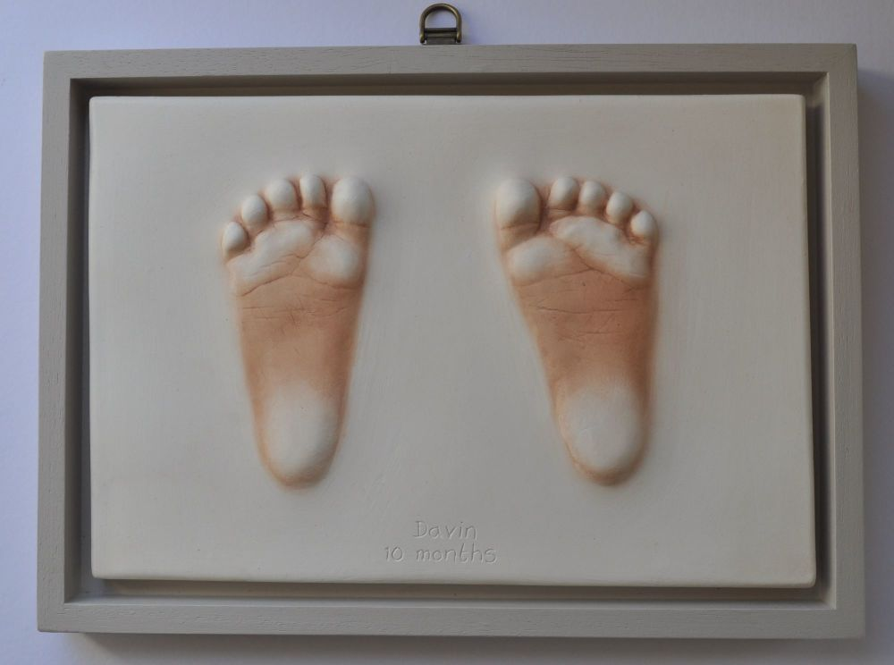 Large impression in Shadow box frame