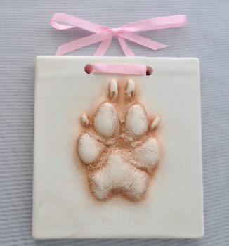 Pet paw Hanging Impression (extra small size)