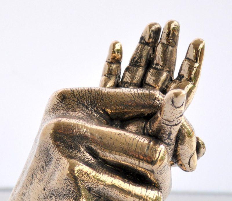 bronze hands crop
