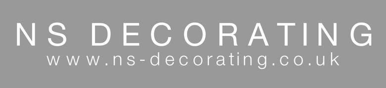NS Decorating, site logo.