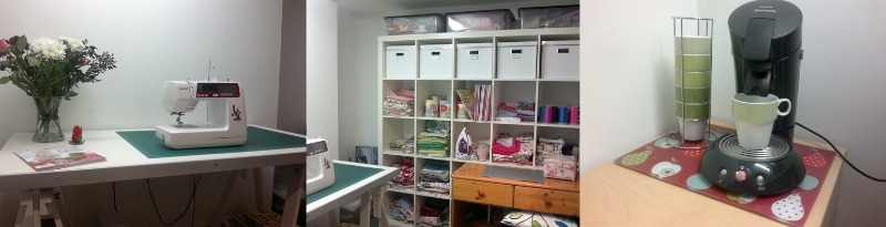 sewing studio combined