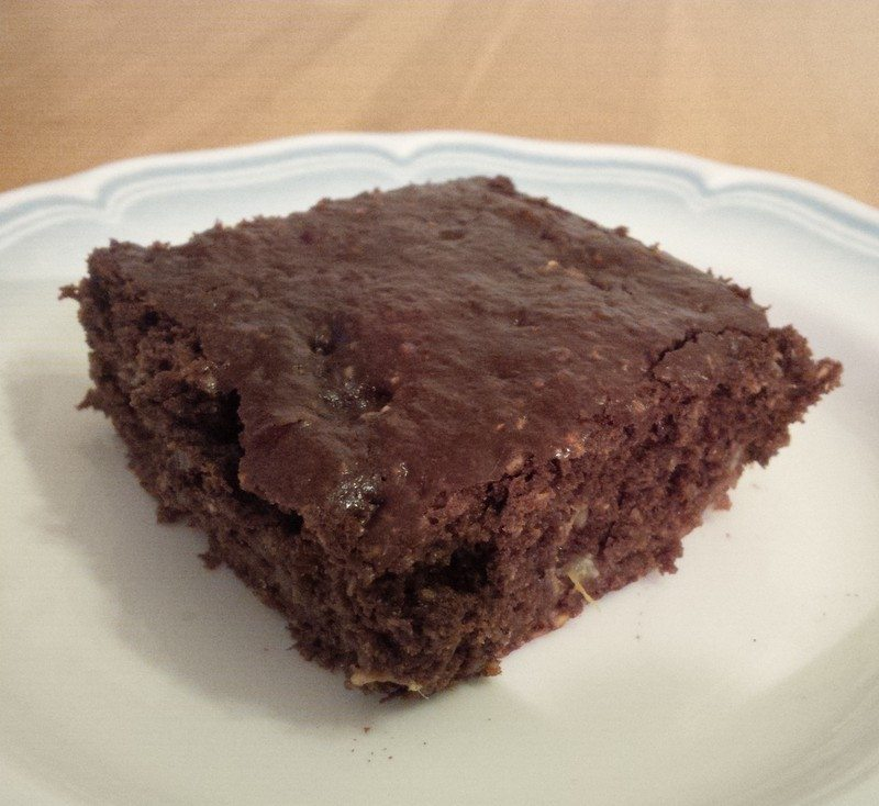ooey gooey choc brownie