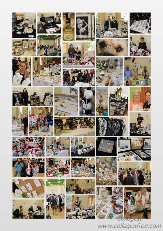 handcrafted cafe final collage april