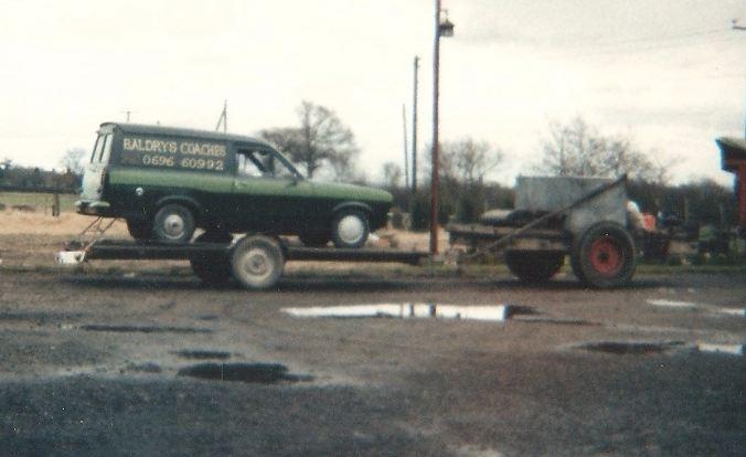 baldrys old service van
