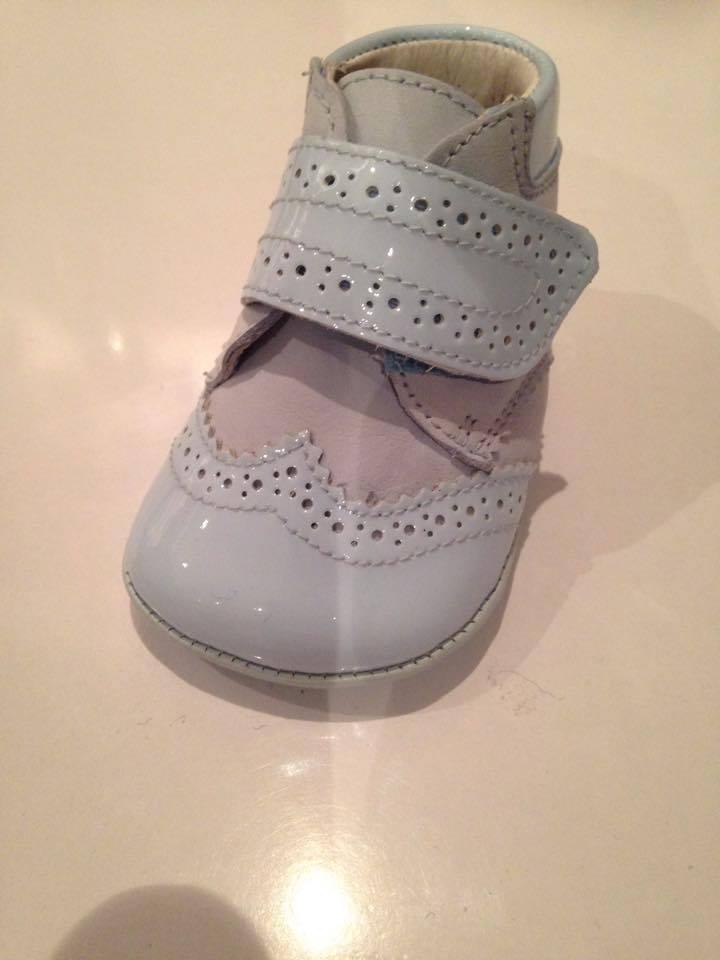 Boys Andanines Soft Sole Shoe - Blue