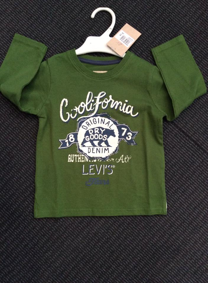 Boys Levis Long Sleeved Top