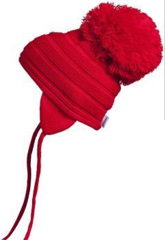 Satila Pom Pom Hat Purl Red