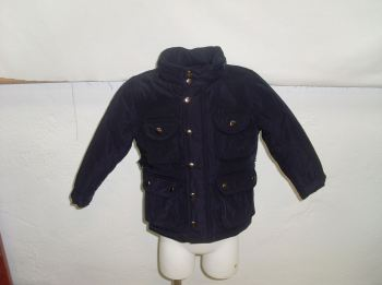 CLEARANCE PRICE Boys Dolce Petit Coat - Navy