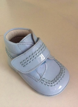 Boys Andanines Soft Sole Shoes - Blue