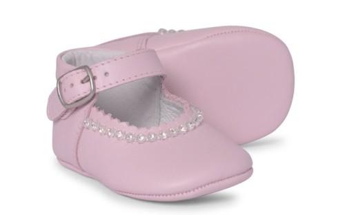 Baby Girls Soft Sole Shoe Gabriela 1174 - Pink