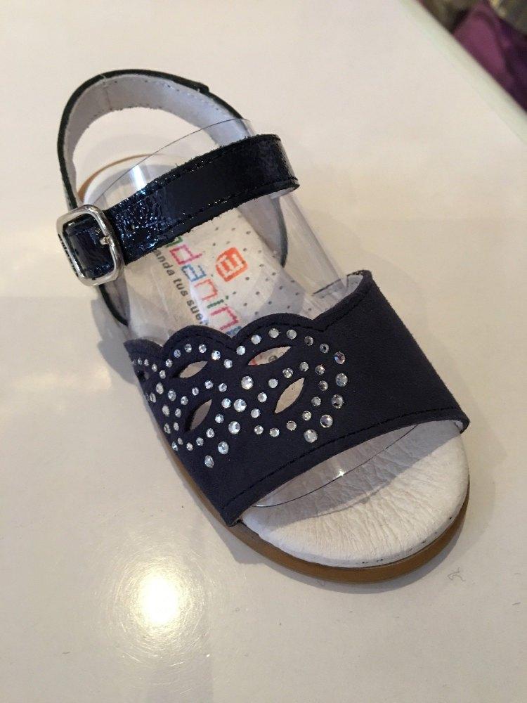 Girls Andanines Sandals Navy