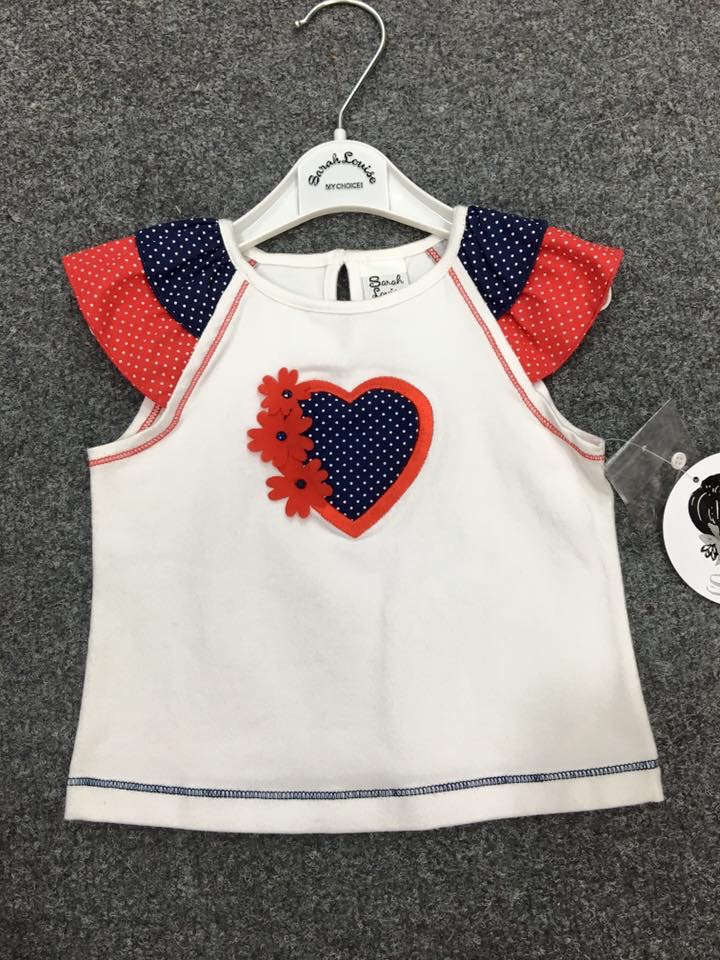 CLEARANCE PRICE Girls Sarah Louise Top NOW ONLY £6