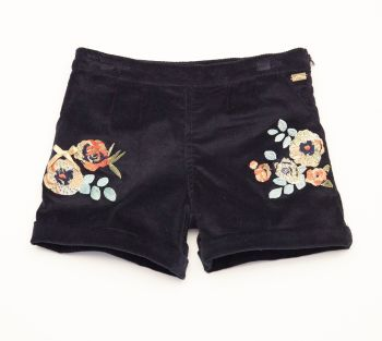 Girls A*Dee Floral Shorts 2617 - Available in 3 years and 4 years