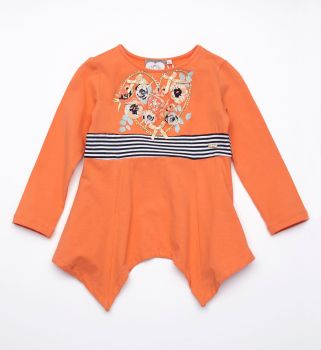 Girls A*Dee Floral Tunic 2716 - Available in 5 years
