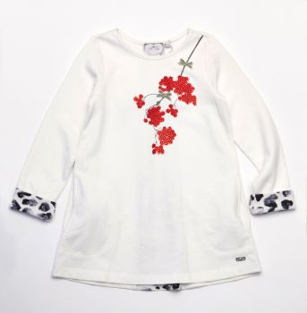 Girls A*Dee Snow Leopard Tunic 1511 - 4 and 5 years remaining