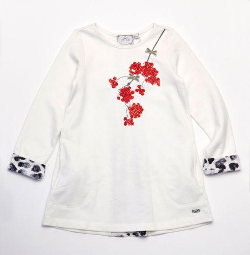 PRE ORDER Girls A*Dee Snow Leopard Tunic 1511