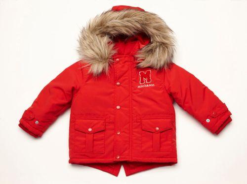 Boys Mitch &amp Son Red Coat 600