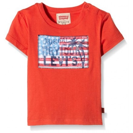Boys Levis Baby T Shirt NH10024 - Red