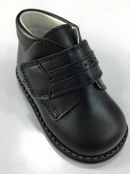 Boys Andanines Black Leather Boot