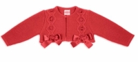 Girls Rochy Bow Bolero - Red
