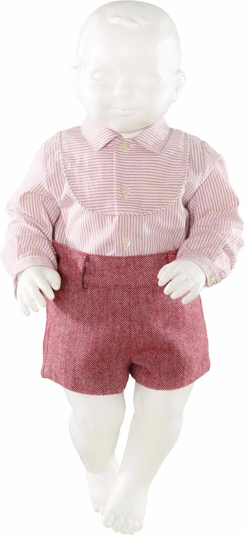 Boys Miranda Burgundy Set