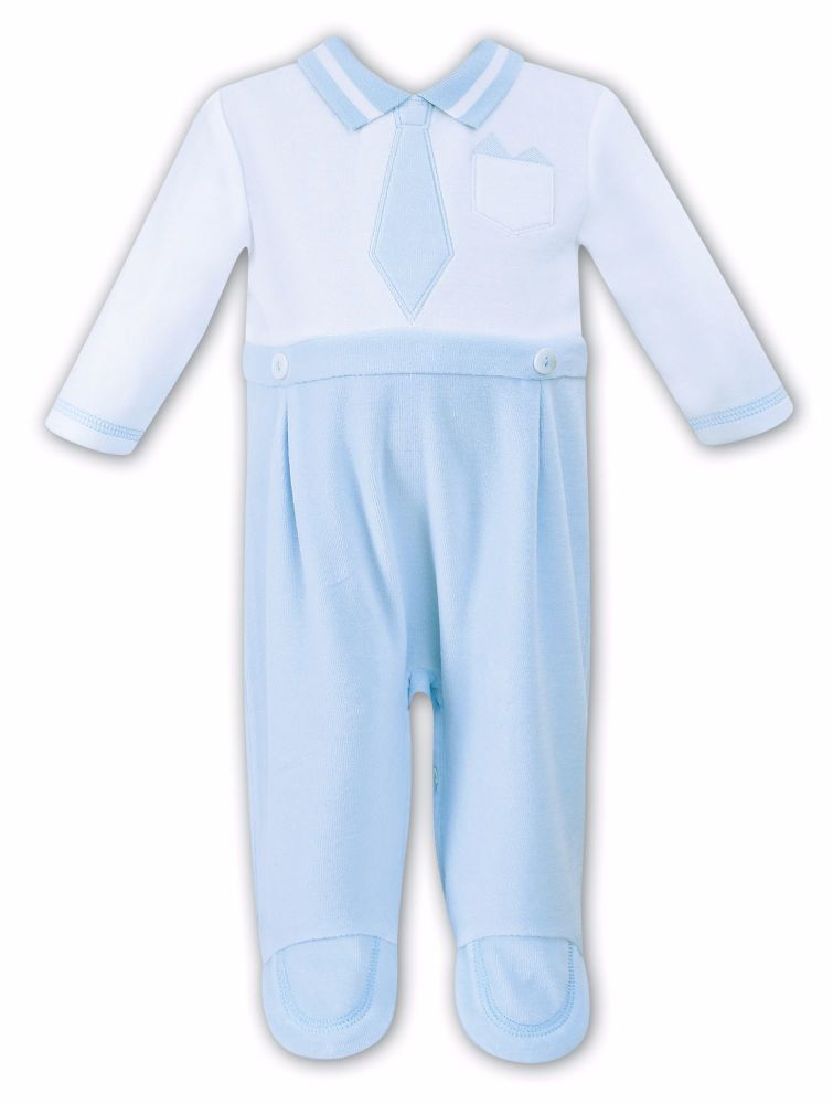 Boys Dani D09083 All In One - Blue and White