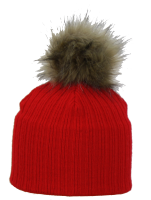 Satila Pom Pom Hat Nora Red