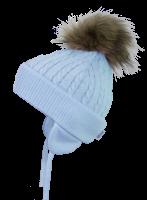 Satila Pom Pom Hat Piper Blue