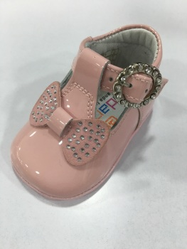 Girls Andanines Soft Sole Shoes 162890 - Pink