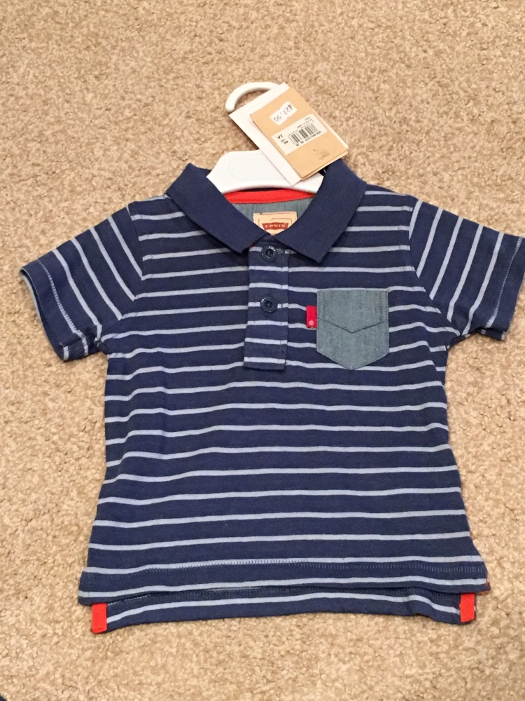 CLEARANCE PRICE Boys Levis Polo Shirt Ages 2,4 years