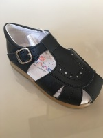 CLEARANCE PRICE NOW ONLY £25 Boys Andanines Sandals Navy Leather